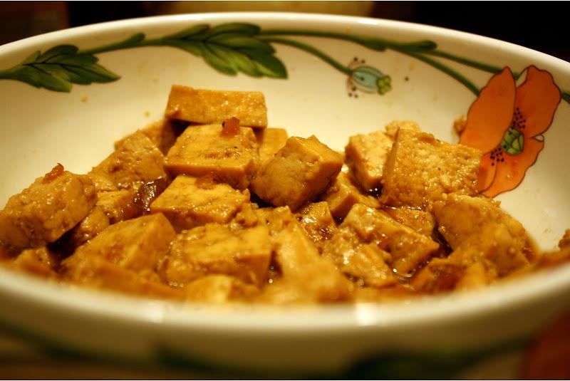 Caramel-Cooked Tofu Recipe — Dishmaps