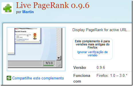 Live PageRank 2