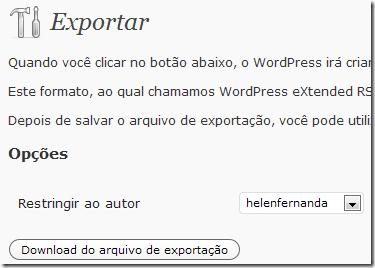 Exportando