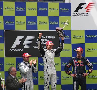 Pódium Fórmula 1
