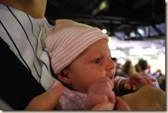 09-24-09 Linnea at Yankees Game, etc 030