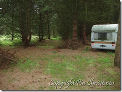 Den gamle campingvogn
