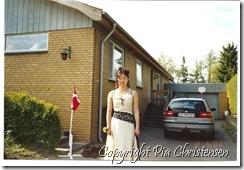 Camilla hos en klassekammerat 2003