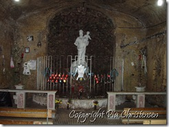 Et lille hellig grotte i Mellieha