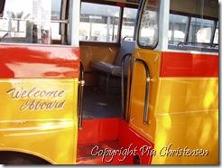 Vores bus til Valletta