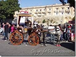 Hestetaxa i Valletta