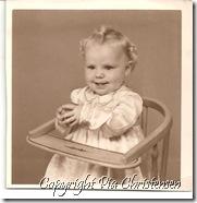 Pia ca. 1 år gammel