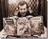 Ken Reid with his famous creation