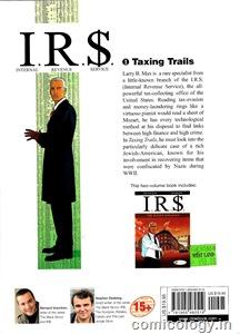 I.R.$. 1: BackCover