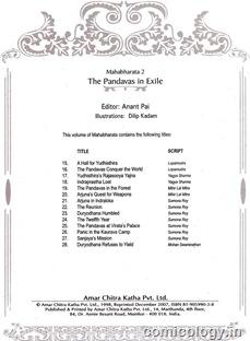 ACK Mahabharata Vol-2 List