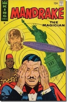 King Comics - Mandrake Issue Cover