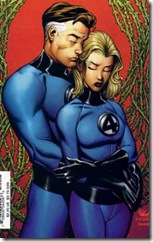 Mr.Fantastic and Invisible Woman