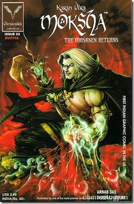 Moksha #2 Cover