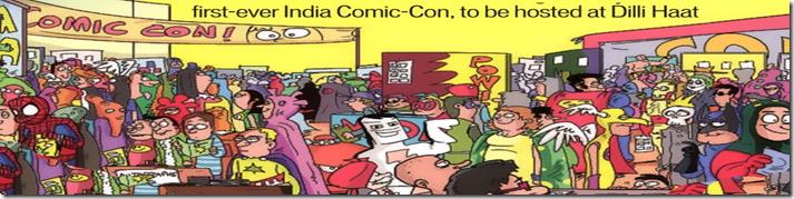 Comic Con Gathering