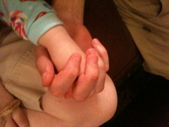daddys hand