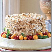 Coconut-Almond Cream Cake from Southern Living