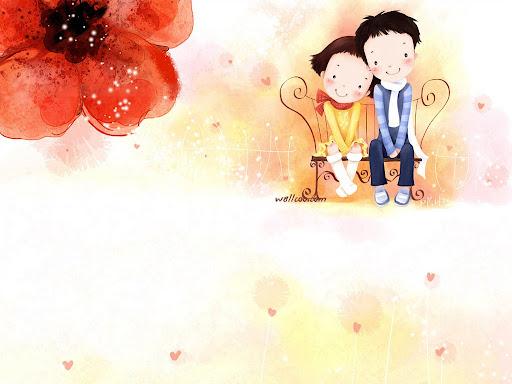 Foto Bazar: pareja de enamorados - amor - tierno - niños - flores ...