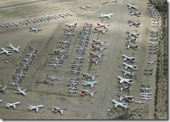 Airplane lot