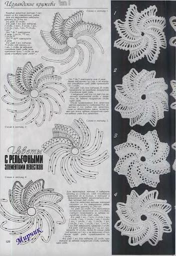 FLEURS AU CROCHET P0208