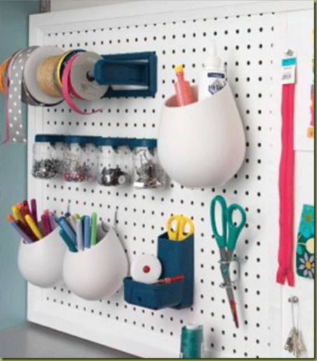 a plethora of pegboard