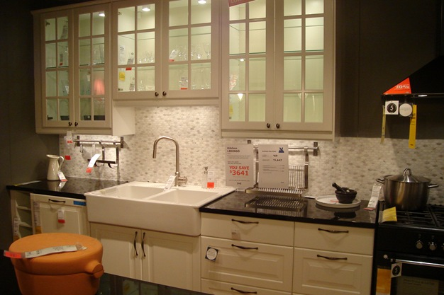 Farmhouse Sink To Fit Ikea Cabinet ~ and the farmhouse sink oh and the in cabinet lighting