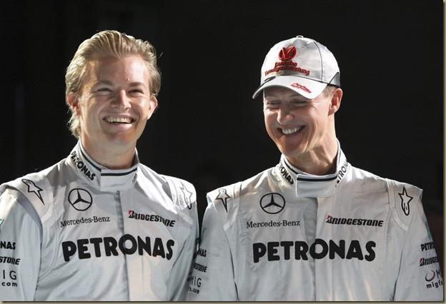 Mercedes - Pilotos