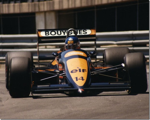 F1DataBase - Philippe Streiff, AGS - Detroit 1988