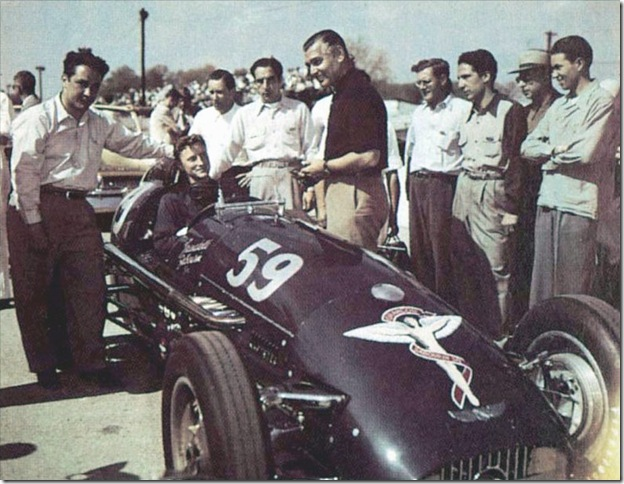 F1DataBase - Pat Flaherty, Kurtis-Offy - Indianápolis 1950