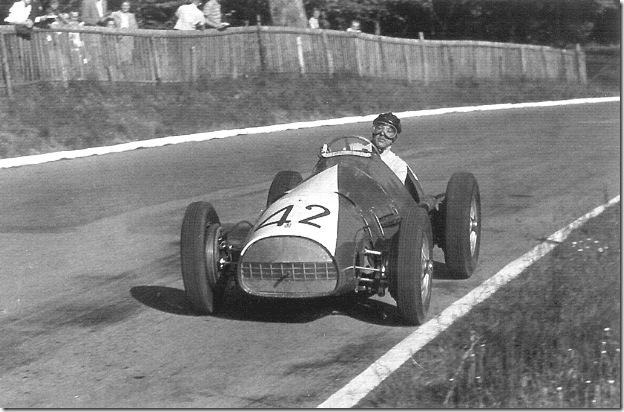 F1DataBase - Rudi Fischer, Ferrari - Suiça 1952