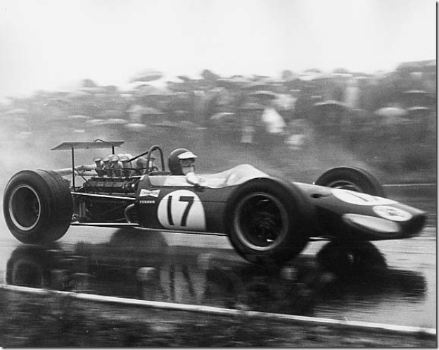 F1DataBase - Kurt Ahrens, Brabham BT24 - Alemanha 1968