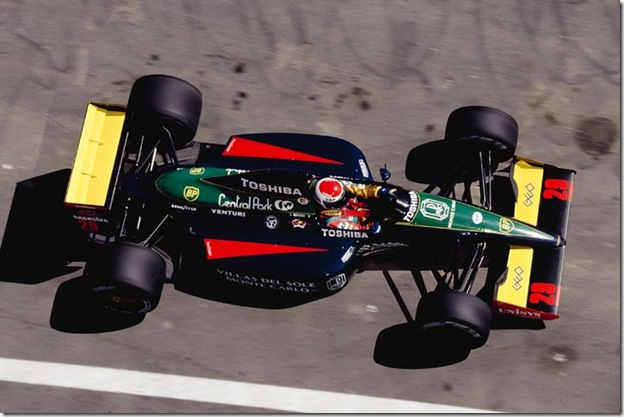 F1DataBase - Eric Bernard, Larrousse - Espanha 1991