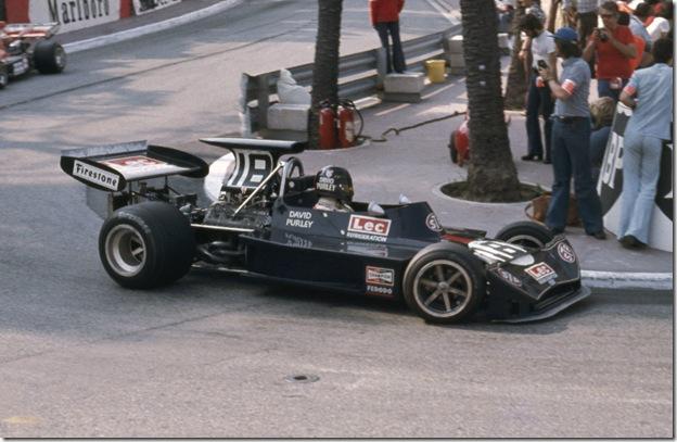 F1DataBase - David Purley - Monaco 1973