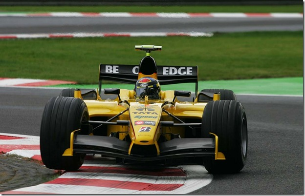 F1DataBase - Nicolas Kiesa, Jordan - Bélgica 2005