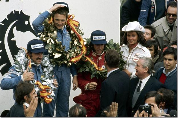 F1DataBase - Pódio - Espanha 1974