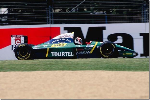 F1DataBase - Hideki Noda - Austrália 1994