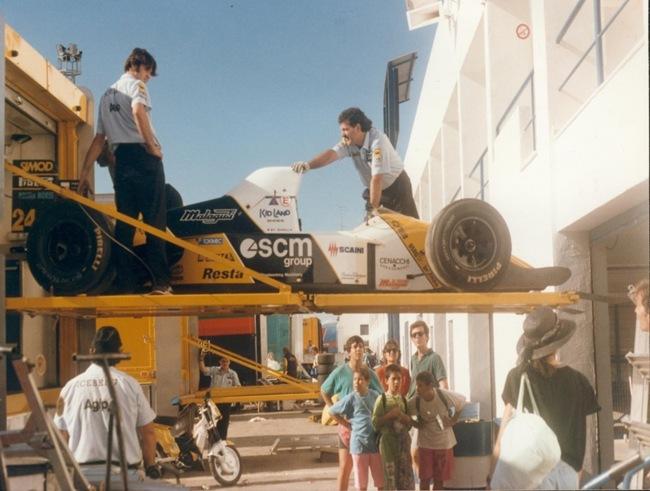 F1DataBase - Paolo Barilla - Espanha 1990