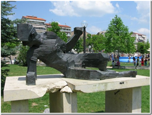 "O ""Θνήσκων Πολεμιστής"" ξανά πίσω στη Lerin/Φλώρινα το 2010."