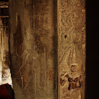 On the right side of the door entering the center of the temple is another devata outline, which we label #5.