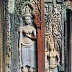 Three Thommanon Devata (sacred female image), Siem Reap, Cambodia http://www.Devata.org