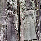 Bayon 2048 The Bayon Goddesses Devata of King Jayavarman VII