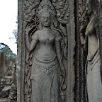 Bayon 2057 The Bayon Goddesses Devata of King Jayavarman VII