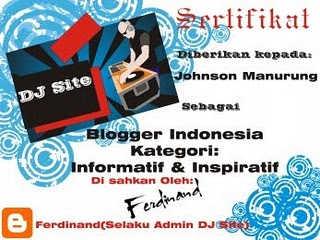 warna tulisan, sertifikat blogger