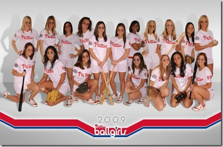 2009 Phillies ballgirls
