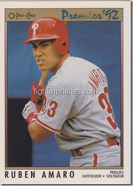 Ruben Amaro 1992