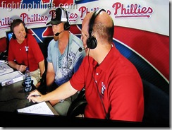 Phillies Geoff Jenkins booth