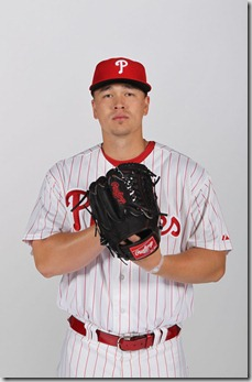 Vance Worley Philadelphia Phillies Photo Day