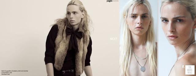 a619ecd2edc6a ... para estrelar as campanhas de Marc by Marc Jacobs e Jean Paul Gaultier,  essa última ao lado da modelo Karolina Kurkova (que, aliás, é a cara dele!)