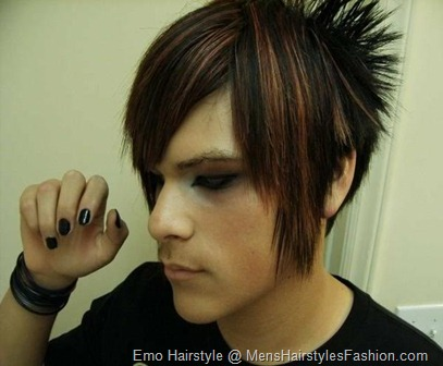 Emo hairstyles for men can be