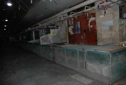 Mahane yehuda- empty
