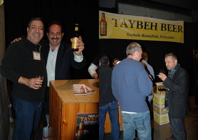 taybeh beer israel beer expo